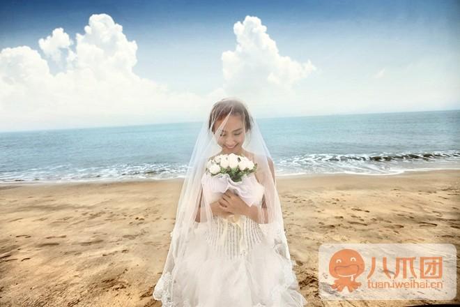 双鱼座婚纱写真摄影馆998元婚纱摄影套系,八爪生活 威海团购网