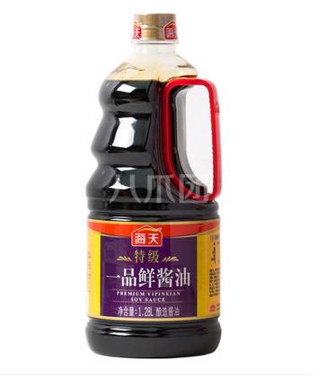 海天特级一品鲜酱油1.28l