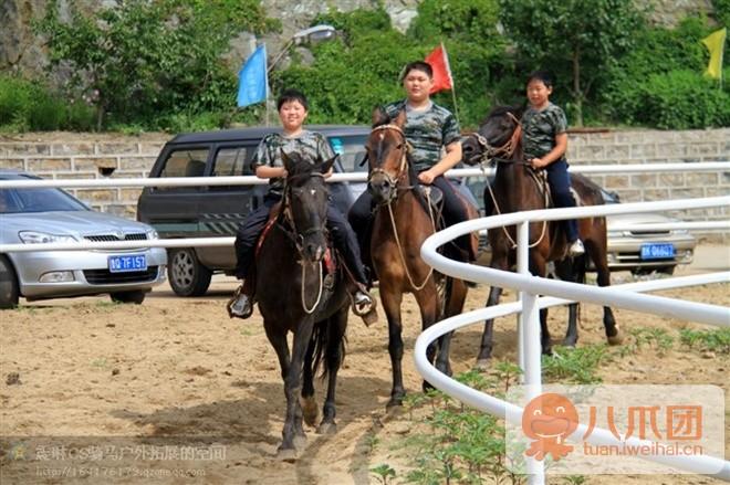 威海震琳体育休闲特色公园CS骑马烧烤或真人国外电子竞技直播平台图片