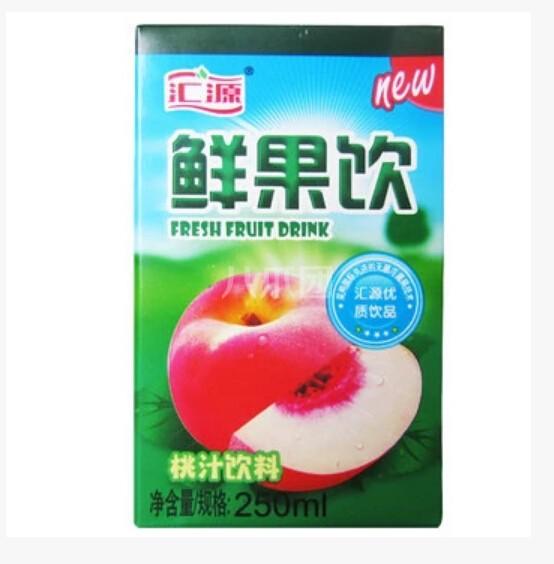 汇源桃汁饮料 250ml 盒