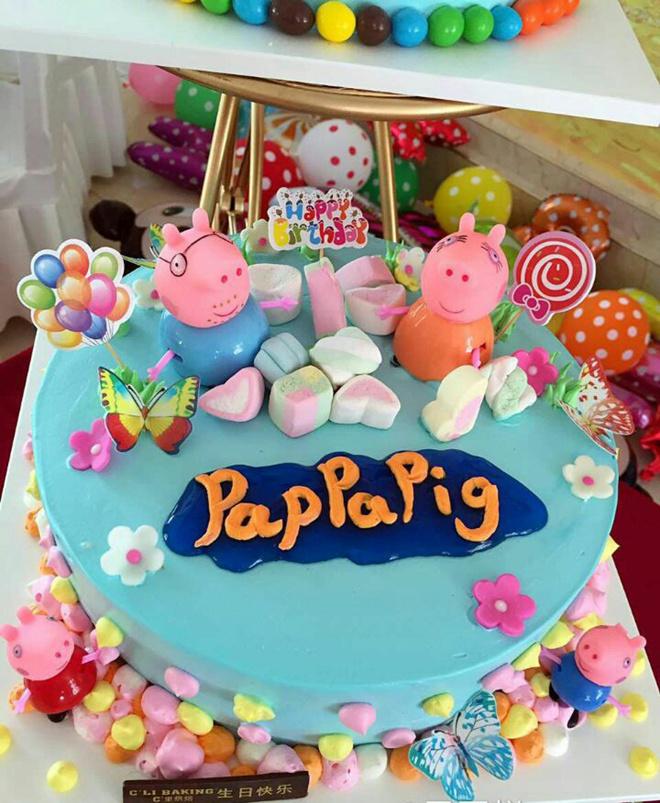 c里蛋糕:仅89元即享价值108元c里蛋糕小猪佩奇8寸圆形