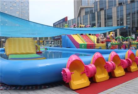 威高广场室外儿童游乐园